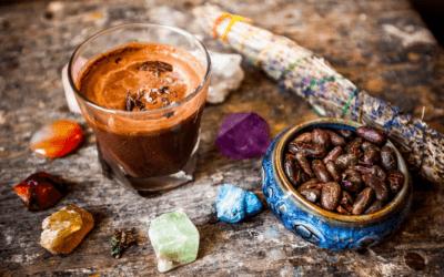 Veganska vroča čokolada